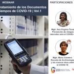 Protocolos en el Tratamiento de los Documentos de archivo en tiempos de COVID 19